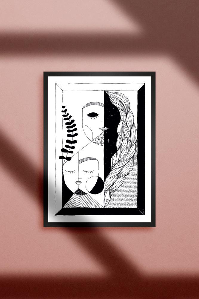 Werjant-artprint-portrait-gehirnsturm
