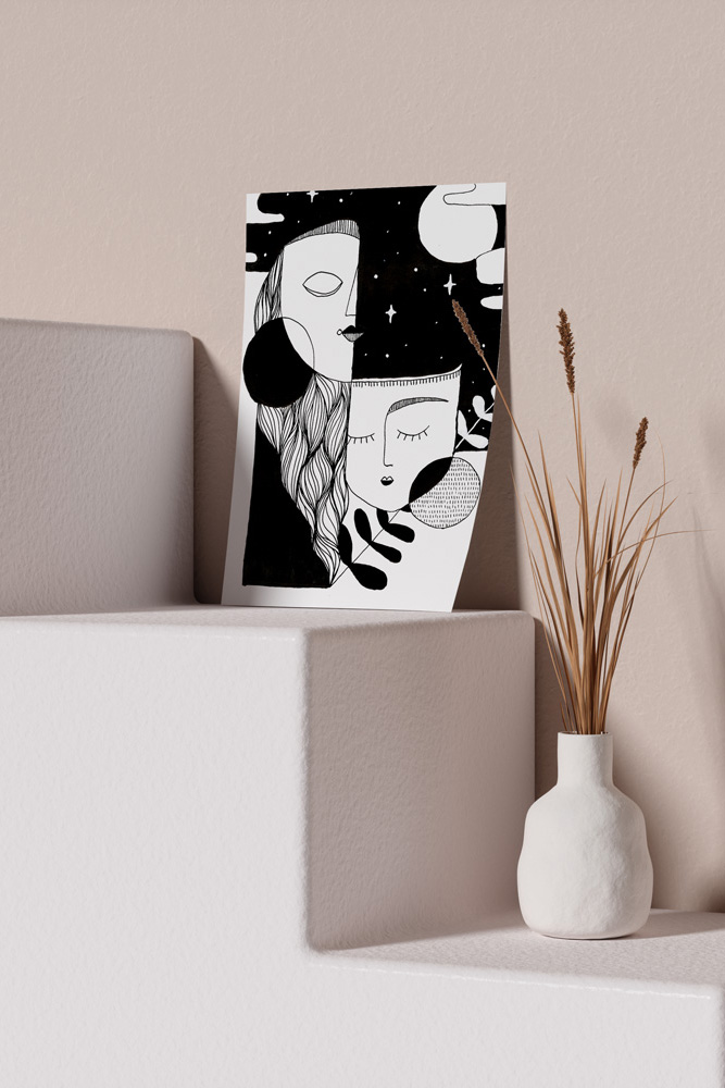 Werjant-artprint-portrait-mockup-cubistdream