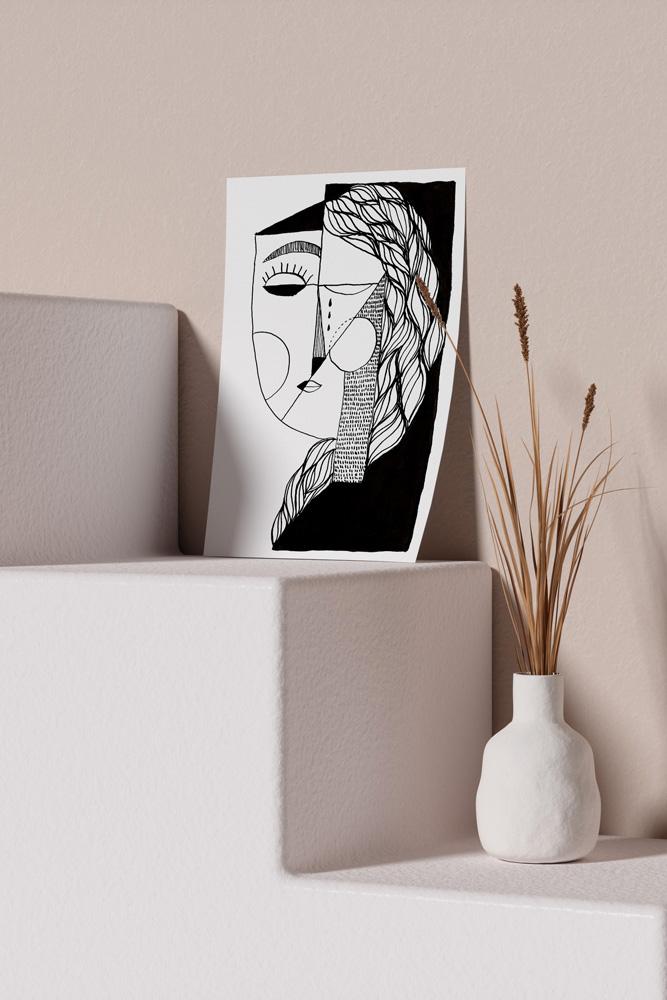 Werjant-artprint-portrait-mockup-sadness