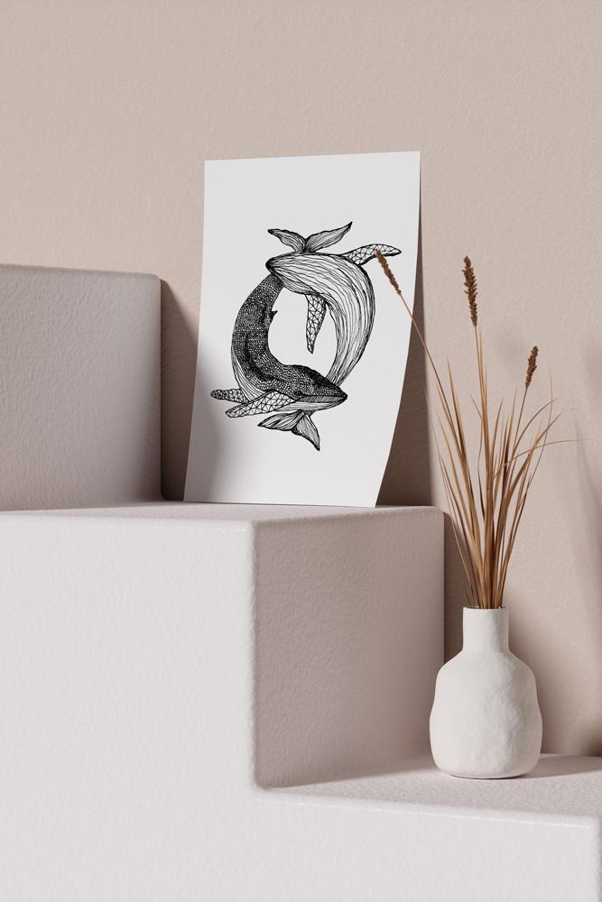 Werjant-artprint-portrait-mockup-whales