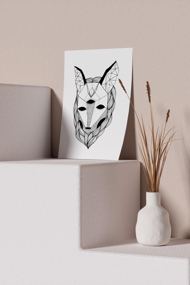 Werjant-artprint-portrait-mockup-wolf