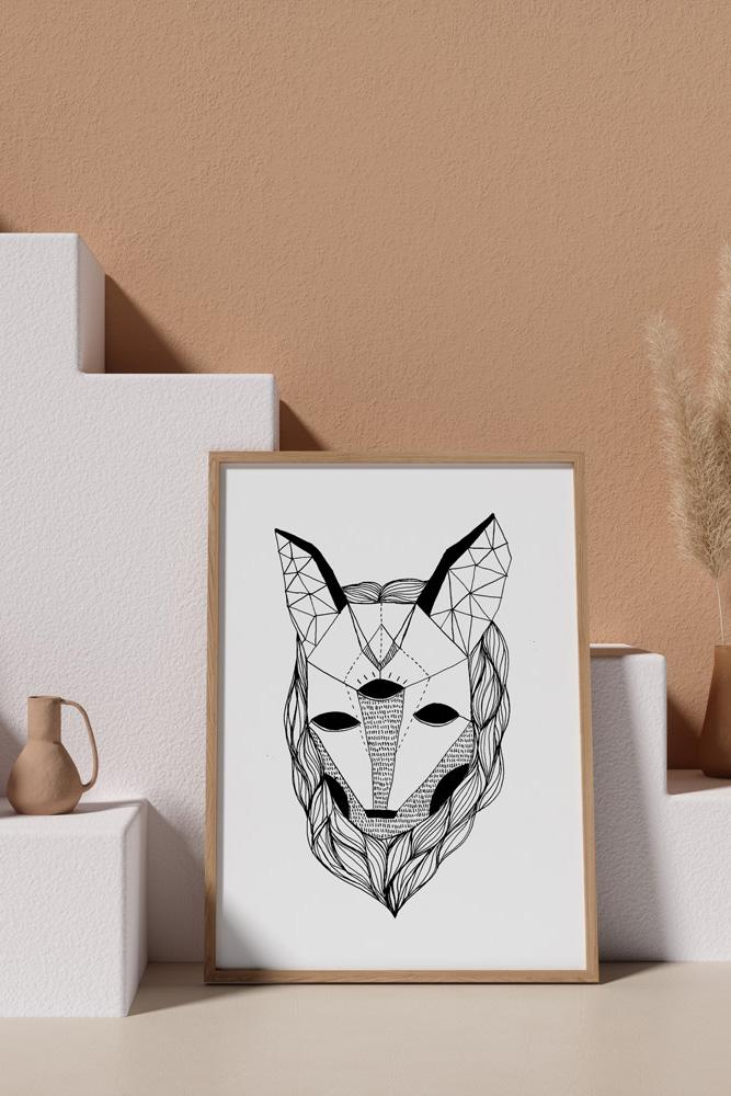 Werjant-artprint-portrait-mockup3-wolf